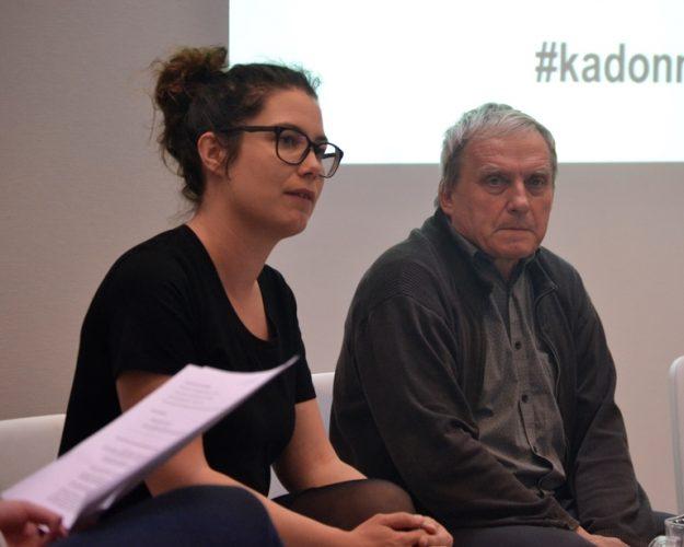 Emma Kari kertoi myös olleensa Hannu Lehtosen opissa.