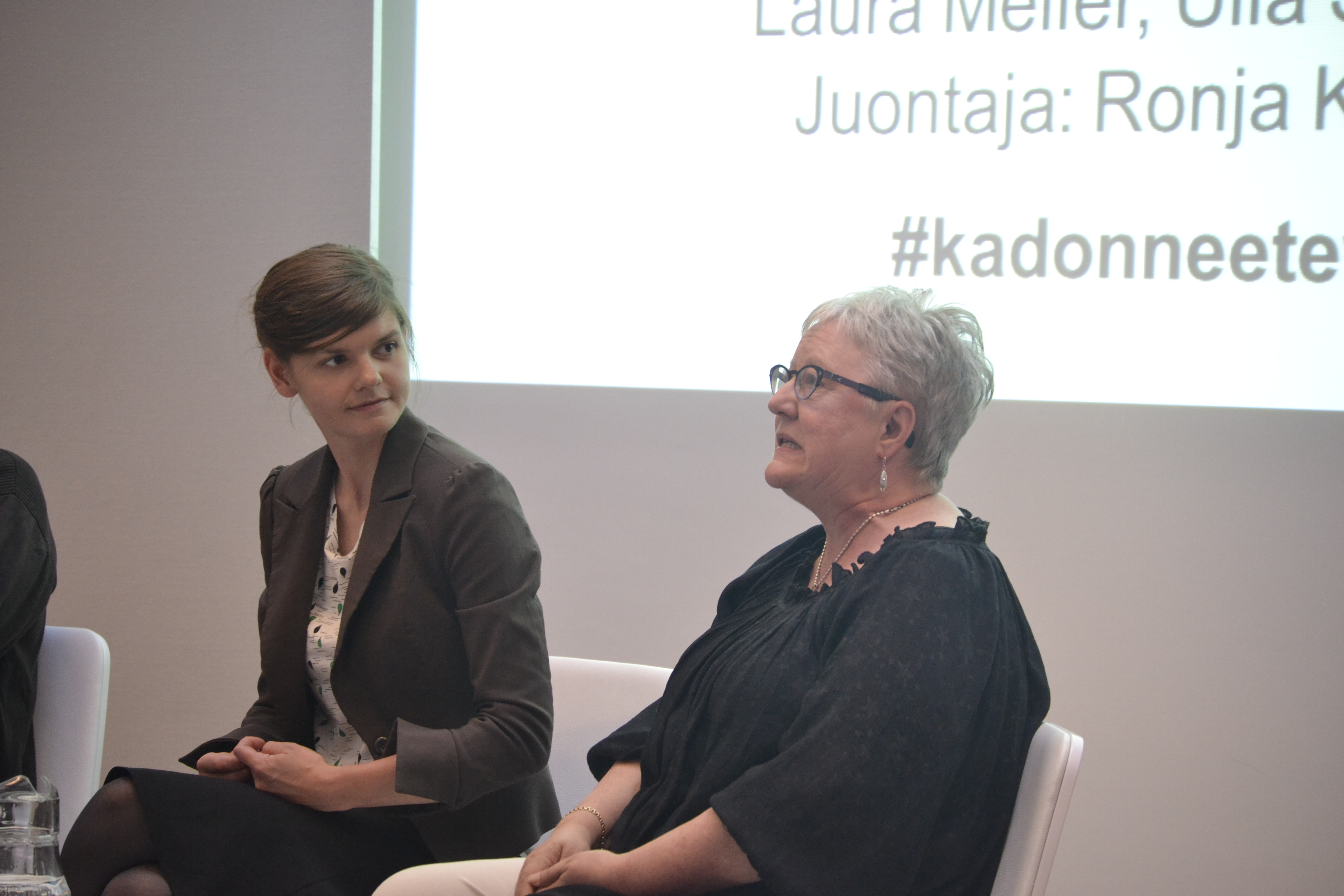 Laura Meller ja Ulla Sarasalmi
