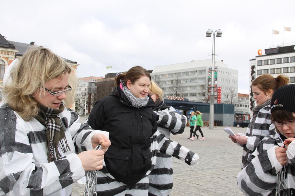 Changemaker-viikonloppu Rautavaaralla 8.-10.4.2011