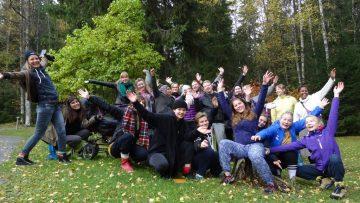 Changemaker-vapaaehtoiset ryhmäkuvassa
