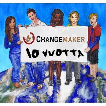 Changemaker 10 vuotta -mainosjuliste