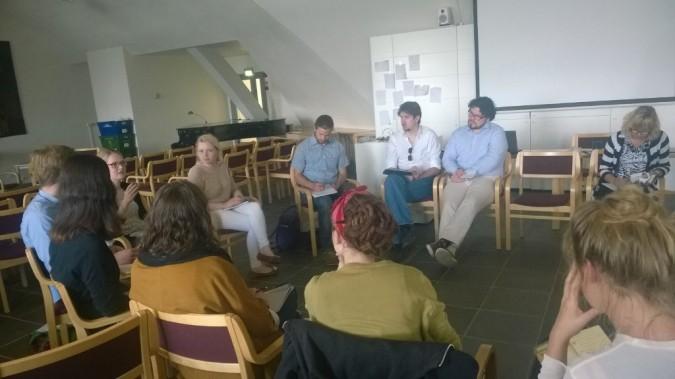 Ryhmäkeskustelua Changemaker Akatemiassa 7.-8.6.2014