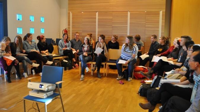 Changemakerin jäsenkokous Tampereella 4.10.2013