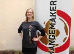 Changemaker-tuote harmaa t-paita