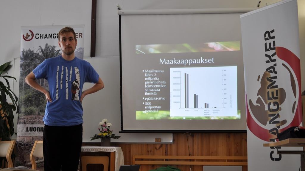 Changemaker-viikonloppu Kuopiossa huhtikuussa 2013
