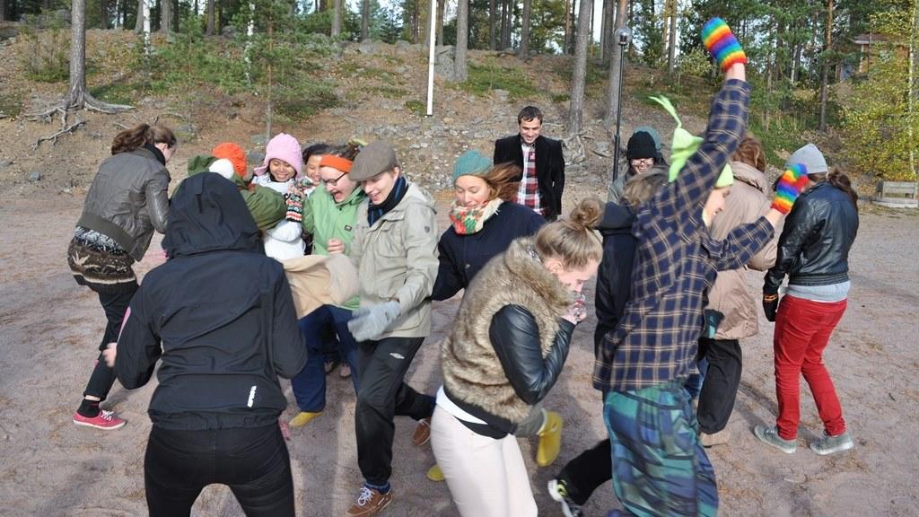 Changemaker-viikonloppu Sastamalassa lokakuussa 2013