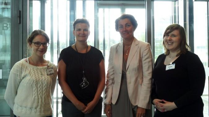 Changemaker tapasi KONEen edustajia 13.8.2014