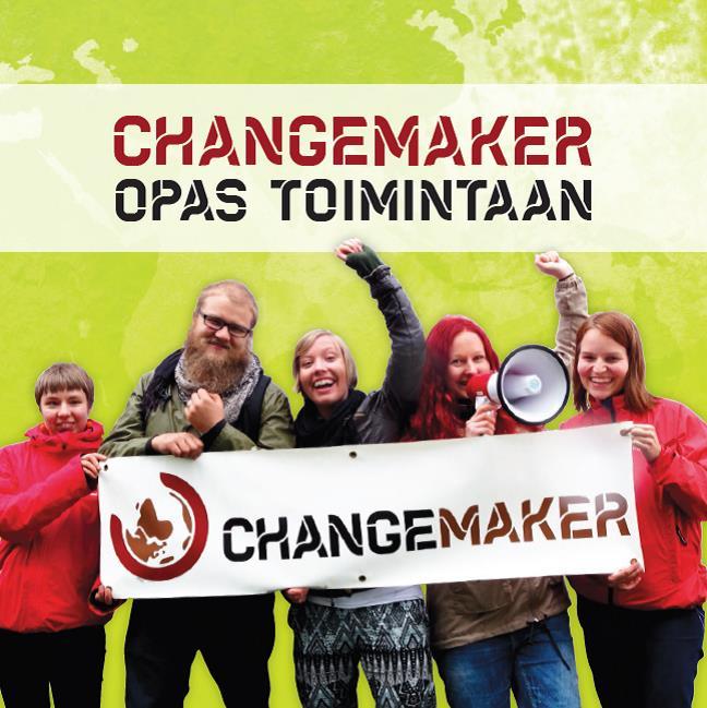 Changemaker - Opas toimintaan kansi