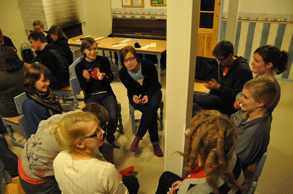 Changemaker-viikonloppu Sauvossa 19.-21.3.2010
