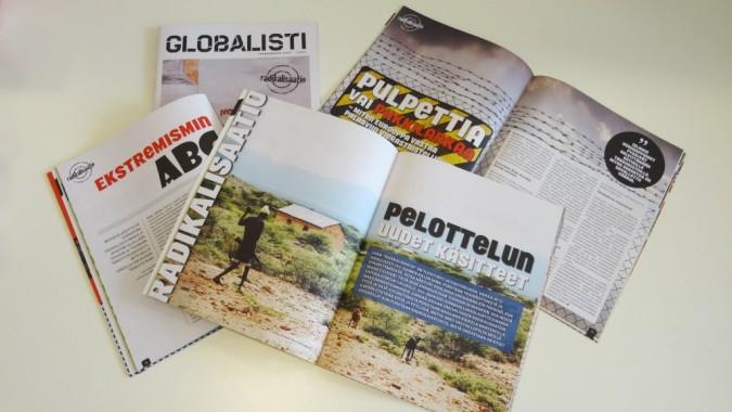 Globalisti-lehtiä
