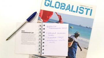 Globalisti ja muistikirja