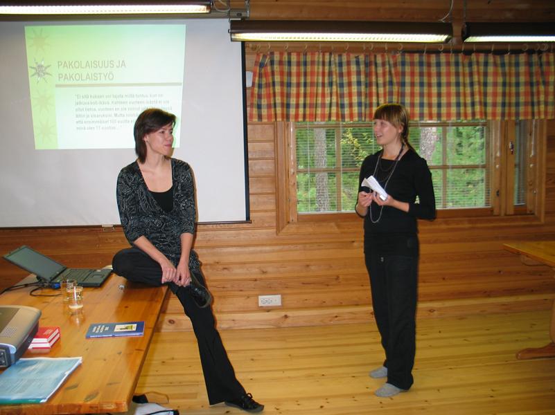 Oulunsalon Changemaker-viikonloppu 14.-16.9.2007