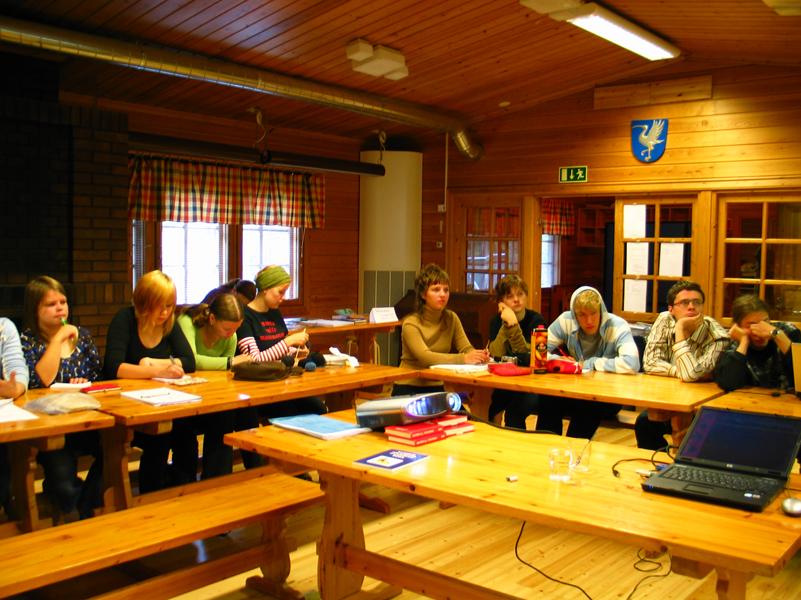 Vuonna 2007 vietettiin Changemaker-koulutusviikonloppua Oulunsalossa.