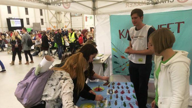 Kalakampanjointia Maata näkyvissä -festivaaleilla 2016