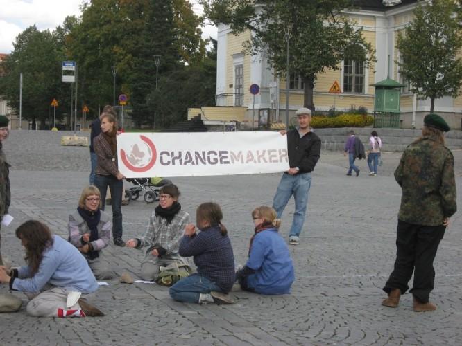 Changemaker-viikonloppu Tampereella 18.-20.9.2009