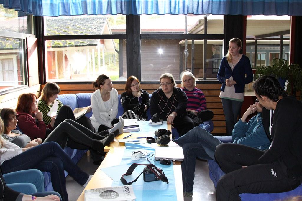 Changemaker-viikonloppu Jämsässä 7.-9.10.2011