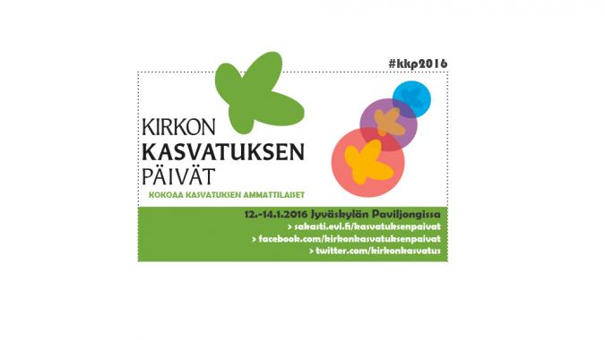 Kirkon kasvatuksen päivät järjestetään tammikuussa 2016 Jyväskylässä.