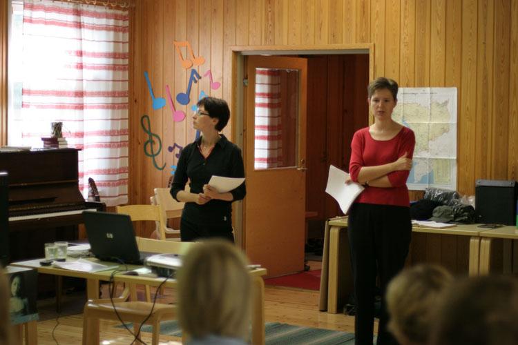 Tömäjärven Changemaker-viikonloppu 26.-28.8.2005