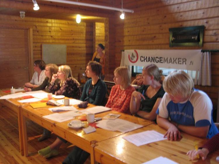 Kunstenniemen Changemaker-viikonloppu 18.-20.8.2006