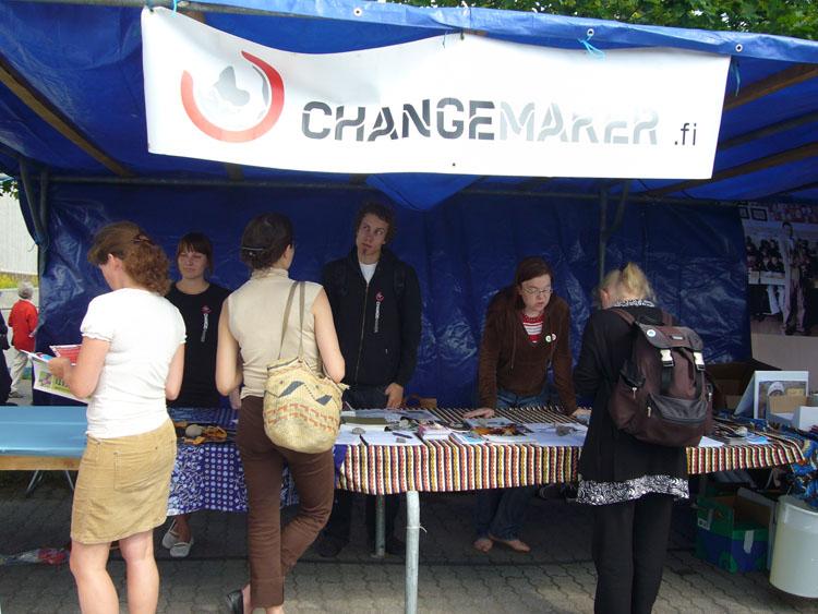 Changemaker mukana Herättäjäjuhlilla
