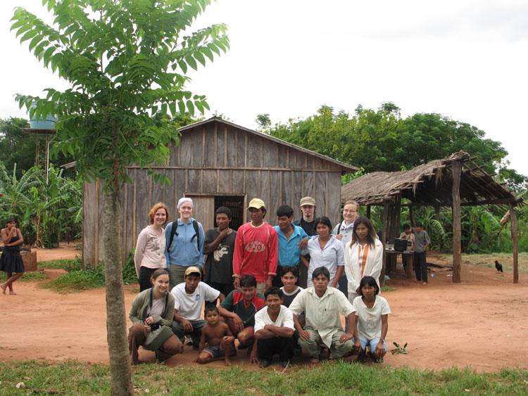 Helmikuussa 2006 Changemakerin delegaatio osallistui Kirkkojen maailmanneuvoston kokoukseen Brasiliassa ja vieraili samalla matkalla myös Paraguayssa.