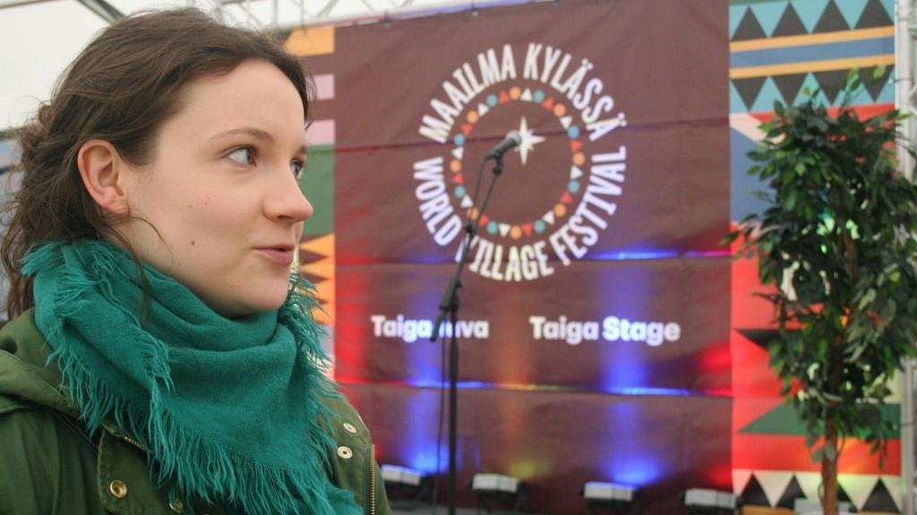 Changemakerin varapuheenjohtaja Riikka Piri nosti paneelissa esiin Rauhanradikaali -kampanjan.
