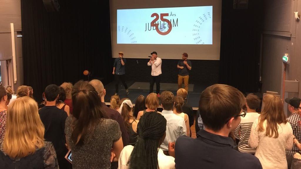 Norjan Changemakerin 25-vuotis juhlallisuuksia