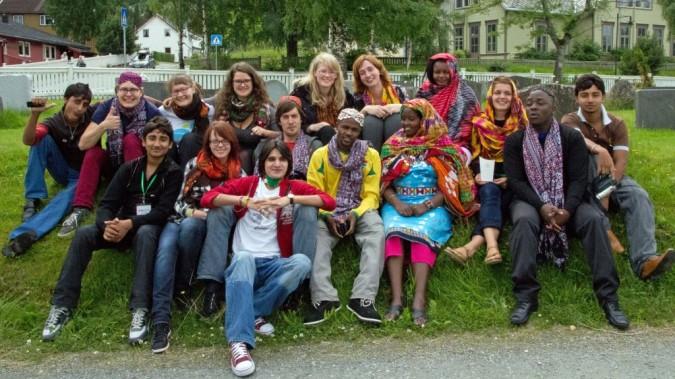 Changemaker-verkostojen kansainvälinen kokous Norjassa kesällä 2011