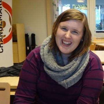 Elina Changemaker-viikonlopussa syksyllä 2014
