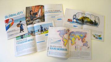 Liikakalastusteeman artikkeleita