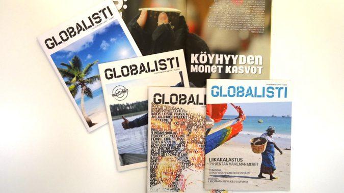 Globalisti-lehden kansia