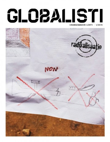 Globalisti 1/2015 -lehden kansikuva