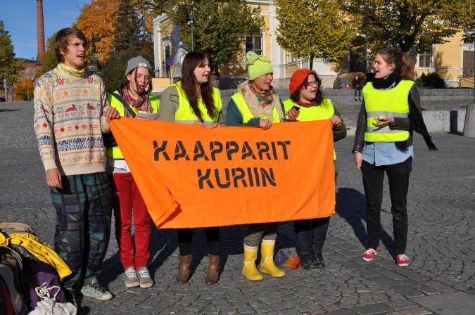 Kaapparit kuriin Tampereella 2013