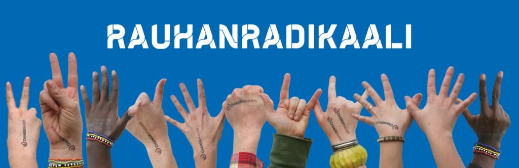 Rauhanradikaali-kampanjan kuva