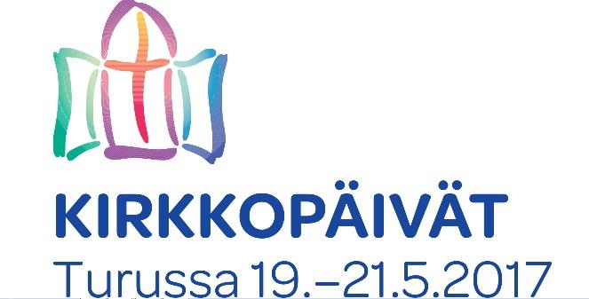 Kirkkopäivät Turussa -logo