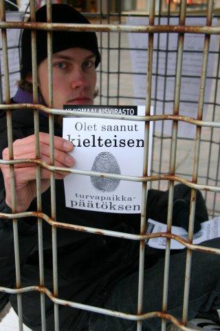 Helsingin Changemakerin turvapaikkakampanja