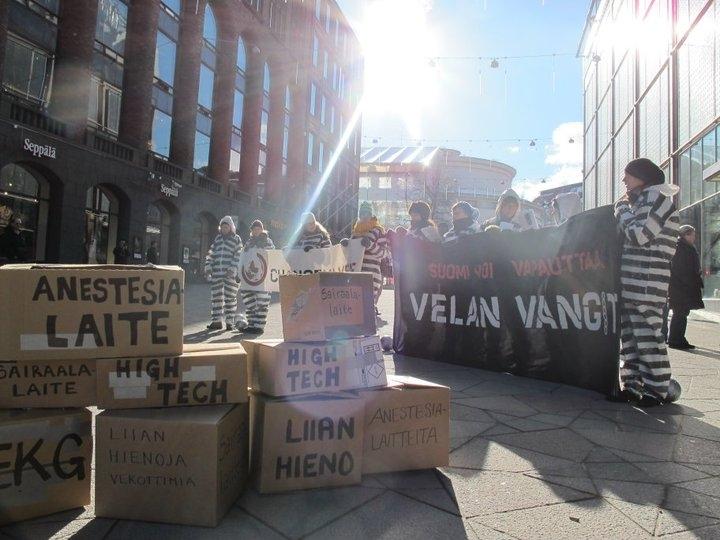 Velan vangit -lanseeraustempaus 5.3.2011