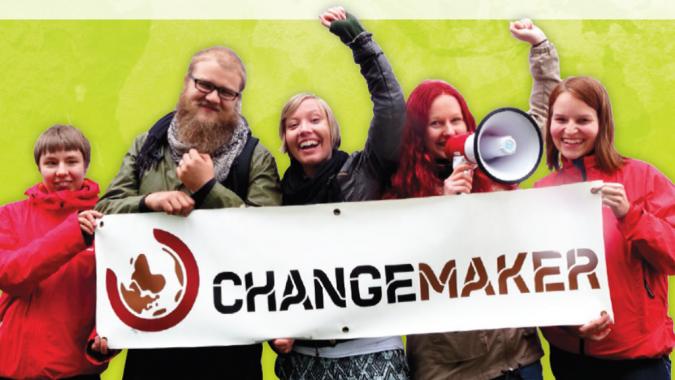 Maailmanmuuttajat ja Changemaker-banderolli