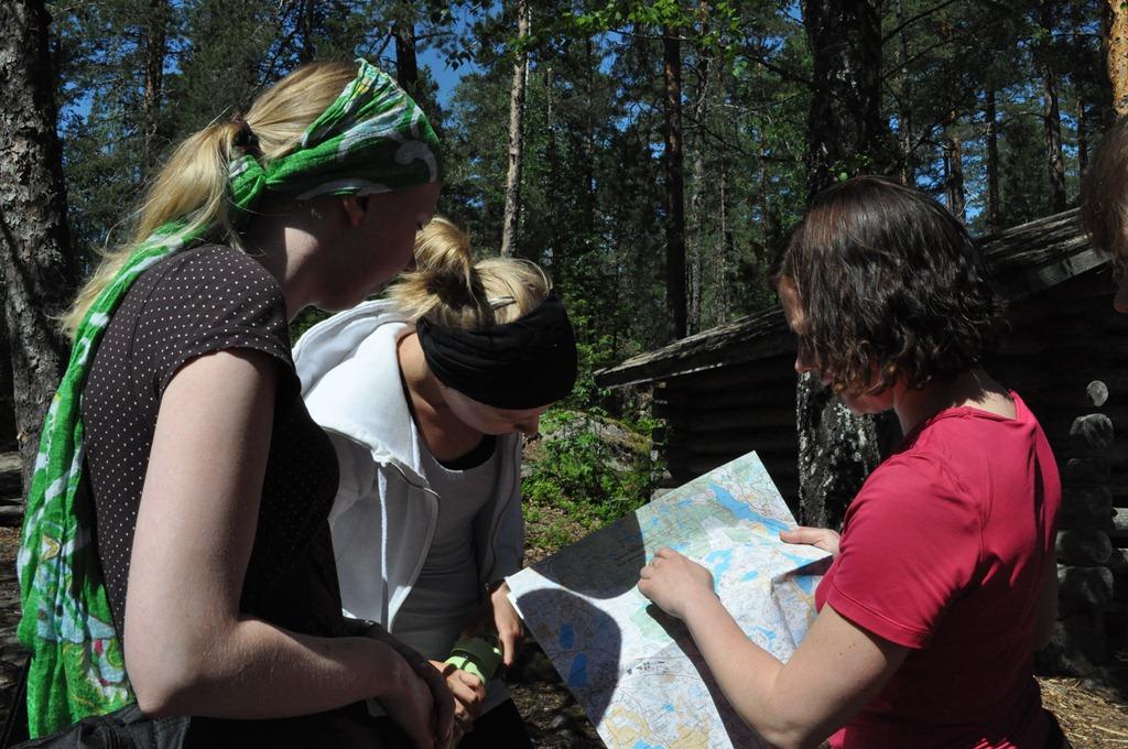 Ympäristöryhmän retki Nuuksioon 20.6.2012