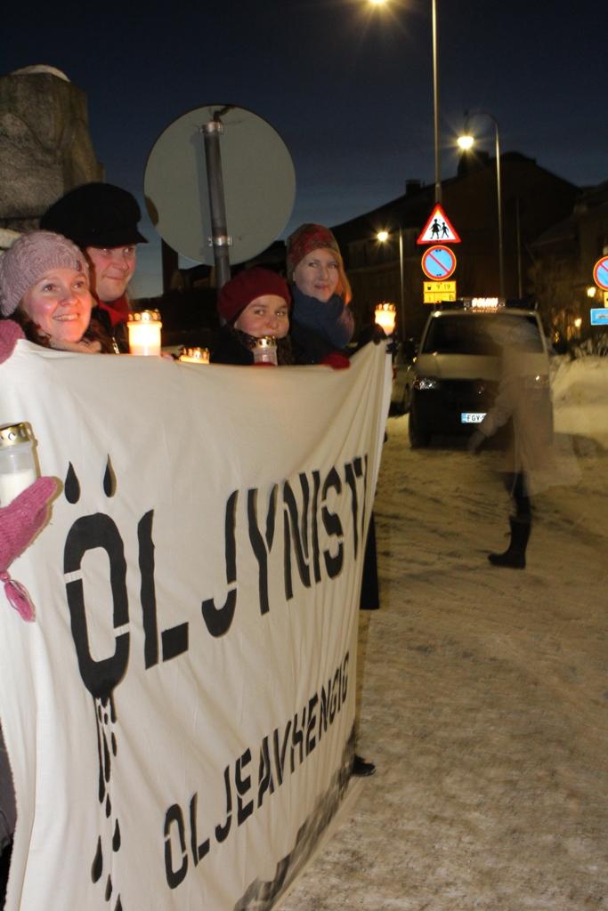 Kynttilämielenosoitus 30.1.2011