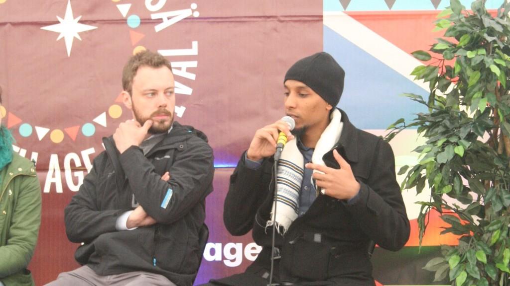 Pekka Hätönen ja Hunderra Assefa vakuuttivat, että viranomaistyö radikalisoitumisen ehkäisemiseksi on lisääntyvää ja sitä tehdään yhdessä kansalaisyhteiskunnan kanssa.