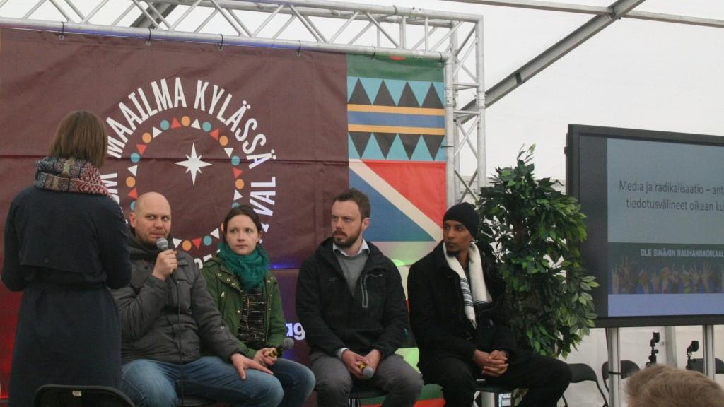 Paneeli oli osa Changemakerin Rauhanradikaali -kampanjaa.