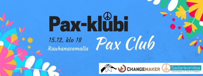 Pax-klubin mainos