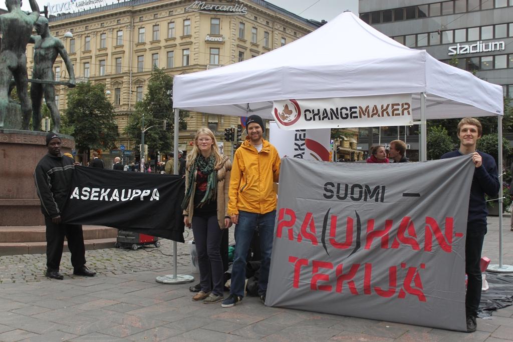 Rauhantekijä-kampanjatempaus 7.9.2012