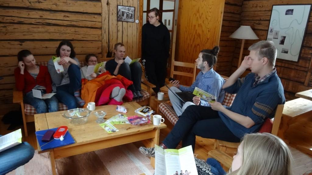 Lauantaipäivä vietettiin työstäen tiiviisti Changemakerin uutta strategiaa.