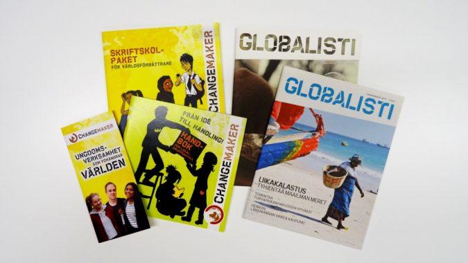 Changemakers material på svenska